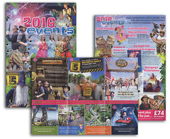 Blackgang Chine Theme Park - 2016 Events Brochure (s0ulsurfing) Tags: news tourism print island photography image may isleofwight leaflet isle wight chine blackgang 2016 s0ulsurfing wwwjasonswaincouk