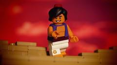 Aladdin (legophthalmos) Tags: sunset classic movie lego disney aladdin