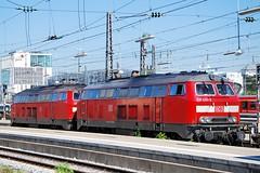 218.423 (Tams Tokai) Tags: eisenbahn zug db bahn vonat vast