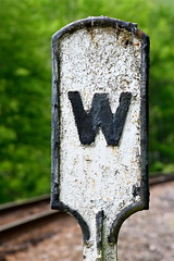 Whistle Post (esywlkr) Tags: railroad nc w north carolina whistle csx wnc penland clinchfield whistlepost