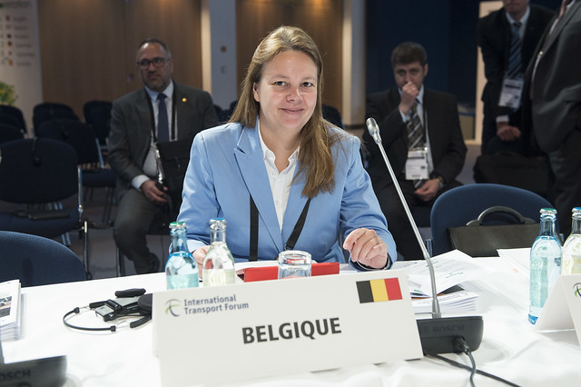 Valérie Verzele at the Closed Ministerial Session
