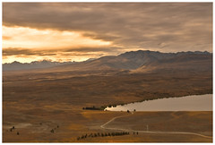 MT JOHN SUNSET (tommy0620) Tags: new sunset sky lake beauty john landscape island south mount zealand tekapo