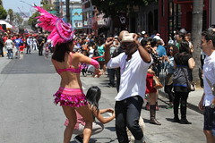 SF Carnaval 2016 (DanceAndRun) Tags: sf carnival pink dance san francisco breast cancer parade carnaval cure manal 2016