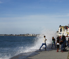 Grande mare (jchaffaux) Tags: mer bretagne vague saintmalo mare