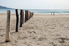 Beach Road (Artista_7591) Tags: beach nikkor girona spain cataluña d80 blue heaven sand mediterranean arène plage strand пляж spiaggia reflex