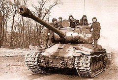 A Soviet IS-2 heavy tank, the only widely produced Allied tank that could take on German Tiger heavy tanks. Its 122mm gun was over 5 times as powerful as its 76mm predecessor. More IS-2 heavy tanks were produced in one year than the Germans produced Tiger (Histolines) Tags: history its that during one was gun tank 5 tiger year over retro more german soviet than only take timeline were times heavy predecessor powerful could produced entire tanks germans allied vinatage is2 widely 76mm a 122mm historyporn histolines war900x610 httpifttt1t8fs04