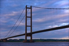 Humber Bridge (Nanny Bean) Tags: clouds dawn tide cormorant hull owls humberbridge goole eastridingofyorkshire northlincolnshire riverhumber deepchannel floatingbuoy