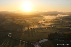 IMG_1187 (ppg_pelgis) Tags: ireland summer sunrise landscape flying northern ppg arial tyrone omagh notadrone