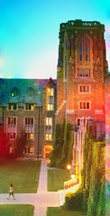 (eflon) Tags: ny west campus hall rainbow university dorm saturation cornell ithaca bldgs mcfadden