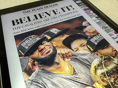 The Curse is Broken (mtfbwy) Tags: world ohio basketball us newspaper unitedstates cleveland champs front westlake page land championships nba frontpage curse theland cavs 2016 believeland cavaliets