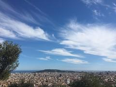 #barcelona (wanda.w) Tags: barcelona city blue sea sky espaa sunshine skyline daylight mar spain meer himmel blau meri spanien iphone katalonien taevas hispaania sinine iphonephotography
