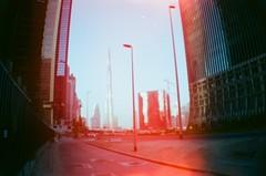 Burj Khalifa (clautelle) Tags: film 35mm la lomography dubai sardina khalifa burj lasardina burjkhalifa
