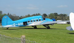 Avro Anson - G-AHKX @ 'Fly Navy' Shuttleworth - June 2016 (Andy Reeve-Smith) Tags: bedfordshire anson shuttleworth 19 nineteen avro flynavy shuttleworthcollection oldwarden shuttleworthcollege