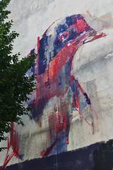 Mesa_7190 rue de la Fontaine au Roi Paris 11 (meuh1246) Tags: streetart paris animaux oiseau mesa paris11 ruedelafontaineauroi