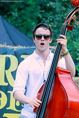 Sam Rose of Hot Rock Pilgrims (Jeff G Photo - 2m+ views! - jeffgphoto@outlook.com) Tags: hotrockpilgrims bluegrass bluegrassmusic oldtime oldtimemusic alexandrapalacesummerfestival2016 alexandrapalacesummerfestival alexandrapalace samrose