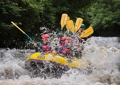 Splashy (Chris Willis 10) Tags: bala kayak raft white water sport action