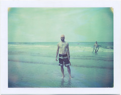 (Rebecca...) Tags: world uk film beach polaroid cornwall surf board belly championships expired 2014 669 bellyboard wbbc polaroidautomatic450