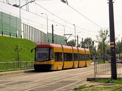 "PESA 120N ""Swing"", #3161, Tramwaje Warszawskie (transport131) Tags: tram swing warsaw warszawa 120n tramwaj pesa ztm"