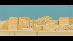 Return To The Temple of Doom (Sound Quality) Tags: africa people cinema yellow architecture kids canon movie landscape temple sand desert northafrica egypt run scene unesco egyptian cinematic saqqara worldheritage anamorphic djoser 2351 steppyramid antiquites canon50d spirit7628yahoocom httpwwwtumblrcomblogsoundquality httpwwwflickrcomphotosmichaelwashingtonphotography