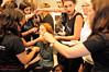 Madison & H&MU team before the Watson x Watson show. (Kent Johnson) Tags: hair nikon models sydney makeup australia redhead redhair modelling redken carriageworks 2015 daywalker mbfwa 1600adjsecrp1686 imgaustralia