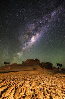 Milky Way - Pinnacles, Western Australia