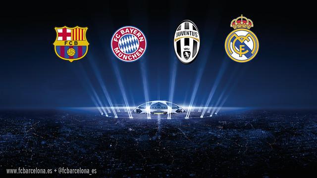 !Francisco Javier Fernandez¡ Éstos son los tres posibles rivales del Barça en las semifinales de la Champions