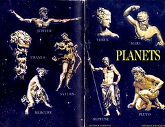 Science Booklet Cover: PLANETS, 1964 (CityOfDave) Tags: mars venus mercury roman science planets pluto booklet bookcover saturn jupiter neptune uranus willyley scienceservice planetaryscience scienceprogram