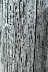 Graffiti (arkland_swe) Tags: wood graffiti sweden schweden worn sverige helsingborg krnan skne attackfoto attackfoto5
