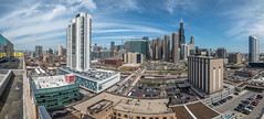 A view east from the new Gateway West Loop apartments (YoChicago) Tags: panorama chicago apartments highrise westloop lennar yochicago walshconstruction gatewaywestloop