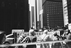 NYC edit 1 (Willliam Grob Photography) Tags: road lighting street leica nyc sky people blackandwhite bw white abstract black contrast america portraits buildings walking subway real happy photography born faces natural rangefinder again buskers unknown organic process society hobo m6 nastalgic day2day leicai familure