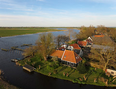 Holysloot Waterland (4) (de kist) Tags: netherlands aerial kap waterland holysloot
