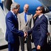 Secretary Kerry is Greeted by Djiboutian Foreign Minister Youssouf Upon Arrival in Djibouti