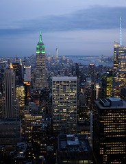 Dusk (kevinoconnor1000) Tags: new york city nyc urban newyork skyline architecture long exposure fuji state dusk empire fujifilm empirestatebuilding empirestate x100 fujix fujix100s fujifilmx100s