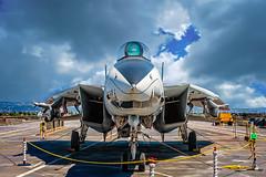 F-14A Tomcat (skip.kuebel) Tags: california santacruz vintage wwii pacificocean aircraftcarrier alameda usshornet fighterjet cv12 f14atomcat