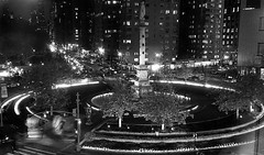 Columbus Circle (sinbadcc1) Tags: nyc bw newyork design cityscape columbuscircle