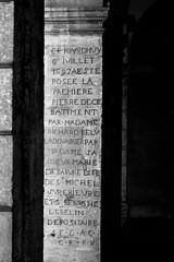 #InTheCity - Beaune (kolapix1) Tags: france architecture noir monuments et bourgogne extrieur blanc beaune patrimoine