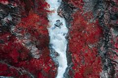River at Zermatt (Babette de Jong.) Tags: river switzerland infrared zermatt infraredimpression