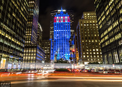 The Helmsley Building (MadMartigen) Tags: city nyc ny newyork architecture canon lights cityscape manhattan helmsleybuilding