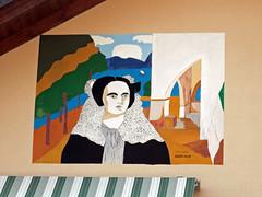 """Legro """"Paese dipinto"""" (frank28883) Tags: piemonte murales paese lagodorta novara muridipinti cusio ortasangiulio ortalake legro lacdorta"""
