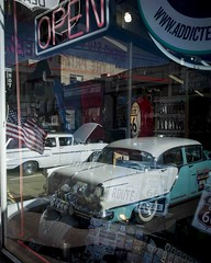 Car Show (_bobmcclure_) Tags: show arizona reflection car route66 williams 66 nostalgia rt