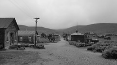 Main Street 3 (sidxms) Tags: not bodie ghost town goldrush abandoned statepark california samsung galaxy note 4 bnw bw monochrome blackandwhite