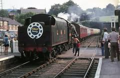 Grosmont Class 5 5428 Aug 75 C2229 (DavidWF2009) Tags: grosmont nymr lmsr class5 5428 northyorkshiremoorerailway