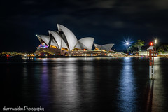 Sydney Opera House (darrinwalden Photography) Tags: house colour opera sydney vivid australia landmark watre