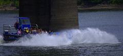 The Thrill Manuver (swong95765) Tags: wet river boat ride jet passengers splash thrill manuver