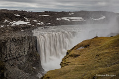 In the land of waterfalls (Anne.Berger) Tags: island waterfall iceland wasserfall dettifoss
