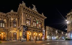 The Theatre (mcalma68) Tags: longexposure night cityscape sicily catania massimobellini