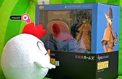 New Friend !!  (Damien Saint-) Tags: toy starwars manga holmes darkvader sherlock peluche goodsmilecompany nendoroid