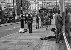 The Streets of London (Rico Shay) Tags: homeless hungry desolate hurting destitute jobless thestreetsoflondon pavedwithgold