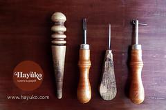 PREPARANDO LA SEMANA (hayuko.com) Tags: hayuko hayukocom hayukocueroypapel hayukocueropapel artesano artesana craft artesania personalizado handmade crafting cuero cueroypapel papel etsy leather herramientas