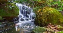 Weeping rock,Leura. (nixpix651) Tags: water landscape waterfall au australia bluemountains newsouthwales cascade leura weepingrock